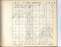 Marshland, West Marshland T39N-R18W, Burnett County 1948